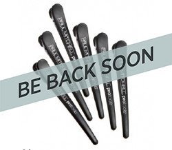 BLACK CLIPS PAUL MITCHELL 6 PACK