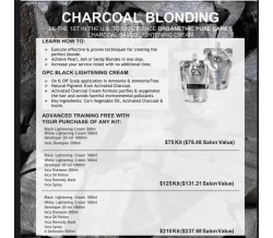 CHARCOAL BLONDING KIT (LARGE)