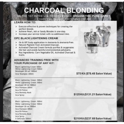 CHARCOAL BLONDING KIT (LA..