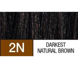 2N  DARKETST NATURAL BROWN