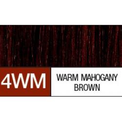 4WM  WARM MAHOGANY BROWN..