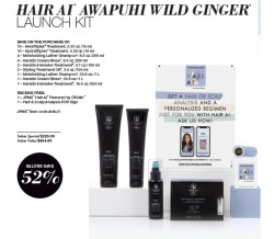 AWAPUHI WILD GINGER HAIR AI LAUNCH KIT