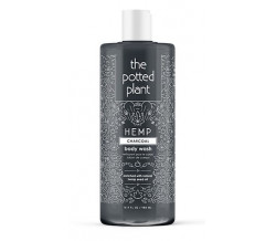 THE POTTED PLANT CHARCOAL BODY WASH 16oz