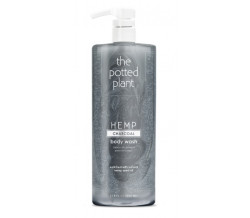 THE POTTED PLANT CHARCOAL BODY WASH 33oz