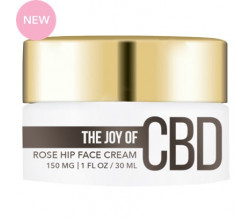 THE JOY OF CBD ROSE HIP FACE CREAM 1oz 1