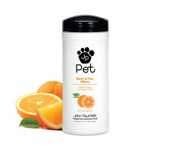 JP PET FULL BODY AND PAW WIPES 45 count