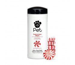 JP PET TOOTH AND GUM WIPES 45 count