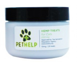 PetHelp HEMP TREATS FOR CATS 250 MG