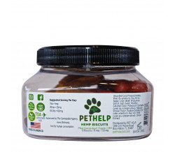 PetHelp DOG HEMP BISCUITS 750MG