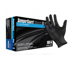 SEMPER GUARD VINYL GLOVES LARGE