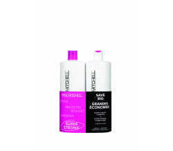 SUPER STRONG SHAMPOO AND CONDITIONER LITER DUOS