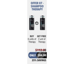 OFFER 7 THERAPY SHAMPOO