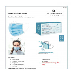 50 CT DISPOSABLE MASKS..